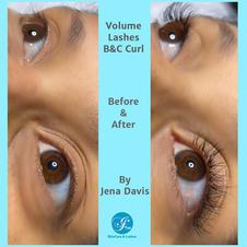 Volume Lashes B & C Curl