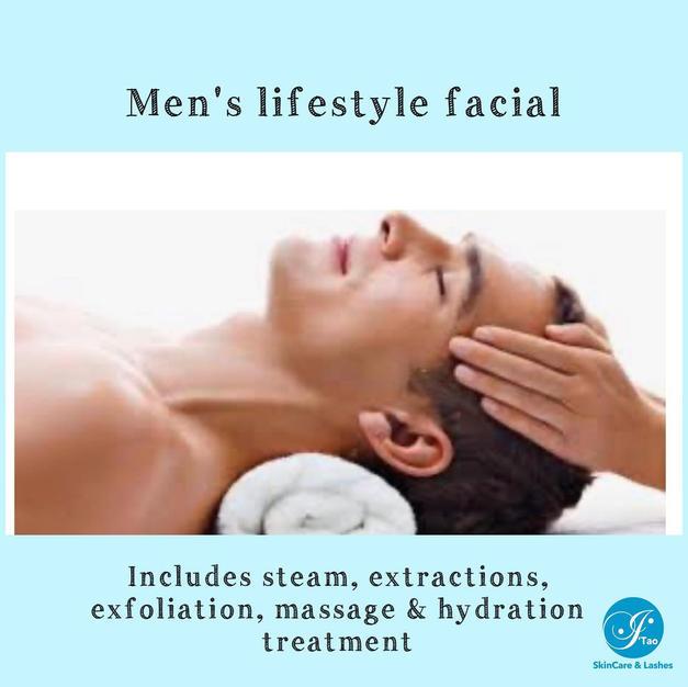 Men's Lifestyle Facial
