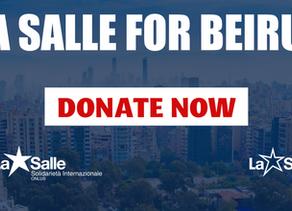 Appel d'urgence Lasalle pour Beyrouth