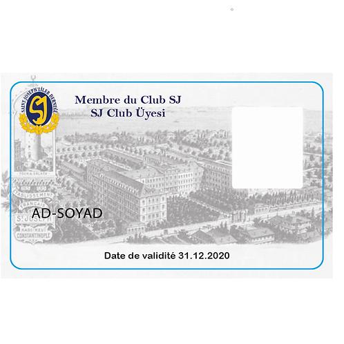SJ Club Üyelik Kartı
