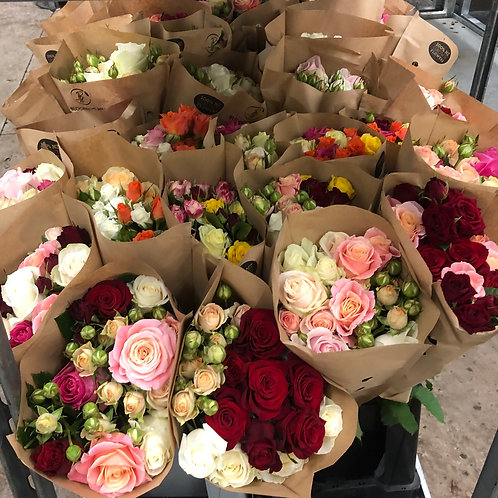 50cm Bouquet - Multi Coloured