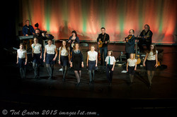 Performing with the Barra MacNeils