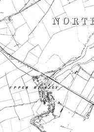 Map of Upper Riseley, 2020