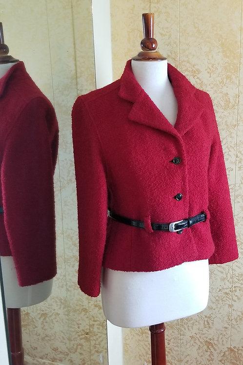 Vintage 60s GALLANT Red Blazer 60sRB