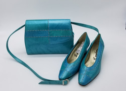 70s crossbody and shoes