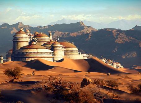 Entre Desertos e Palácios