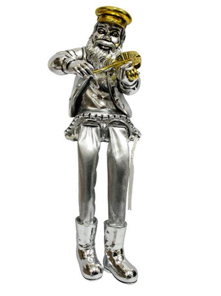 Miniatura Músico Hassídico | 23cm