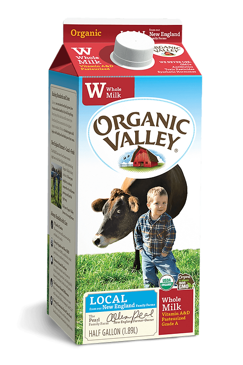 Whole Milk Organic Valley