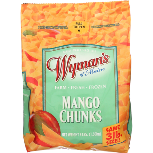 Wymans and Maine Mango Chunks 3lbs