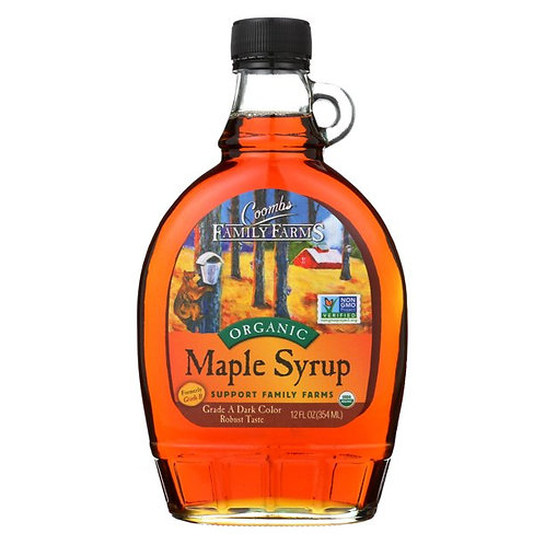 Commbs Family Farms Maple Syrup 12oz