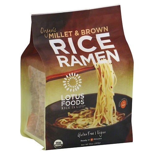Millet Brown Rice and Ramen Gluten Free