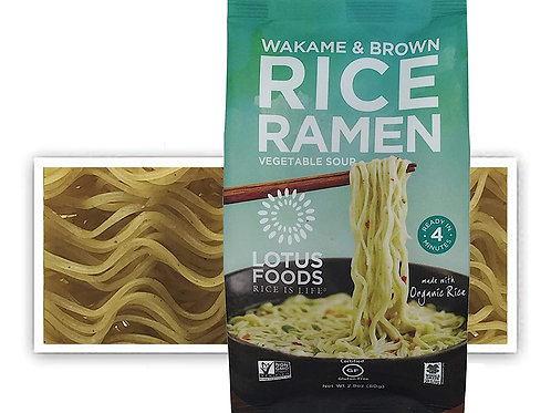 Lotus Food Wakame and Brown Rice Ramen Soup