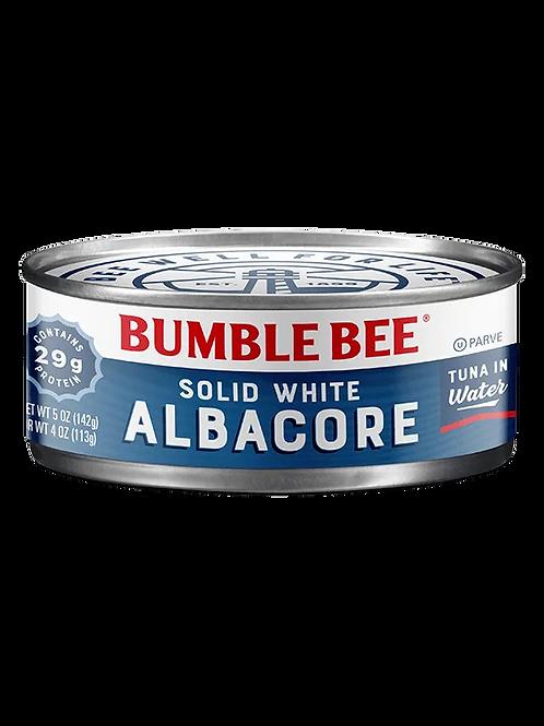 Bumble Bee Solid White Albacore Tuna Fish 5oz