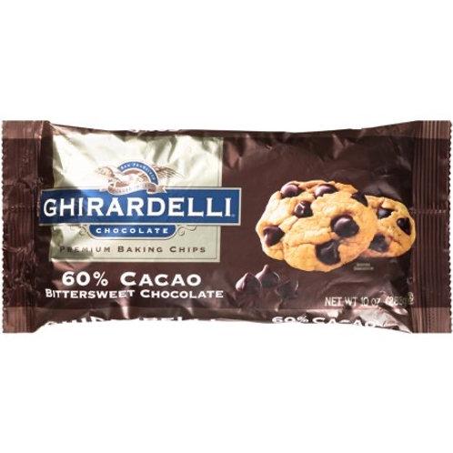 Ghirardelli Chocolate Chip Bittersweet 60%