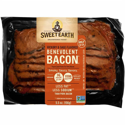 Sweet Earth Benevolent Bacon Smoky, Saucy, Savory 5.5 oz