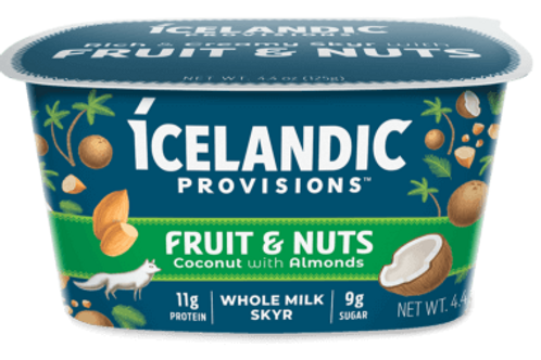 Icelandic Provisions, Coconut With Almonds Yogurt 4.4 oz