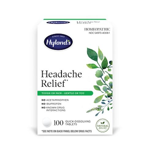 Hyland's Headache Relief 100 Tablets