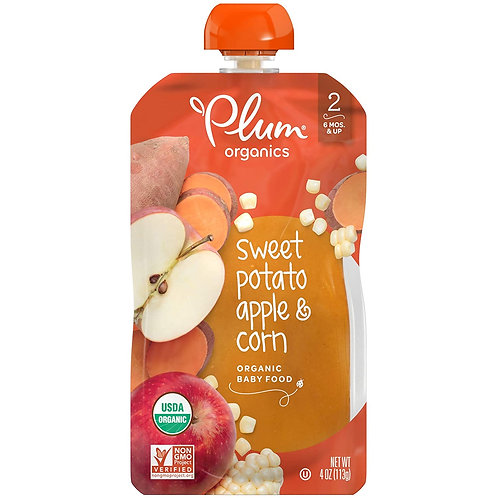 Plum Organic/Sweet potato apple and corn