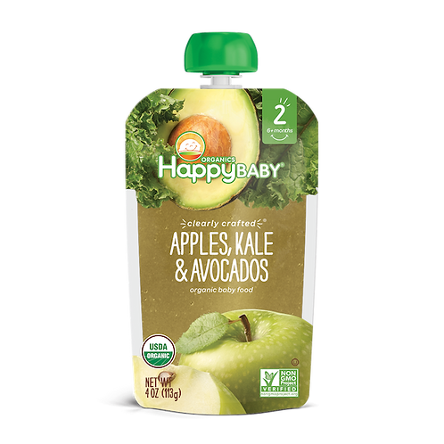 Happy Baby Apple, Kale and Avocado