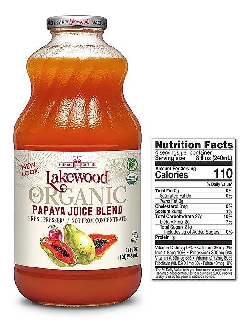 Papaya Juice Blend