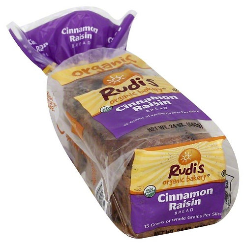 Rudis Cinnamon Raisin Bread