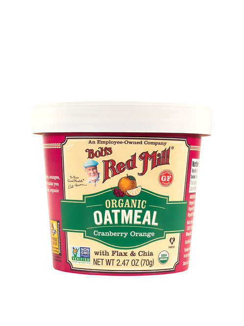 Bob's Red Mill Organic Oatmeal 2.47 oz