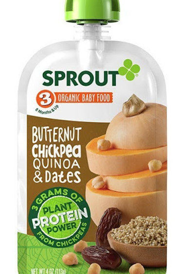 Sprout organic/ butternut chickpea quinoa and dates