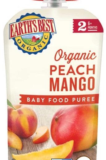 Earth Best Organic Peach Mango