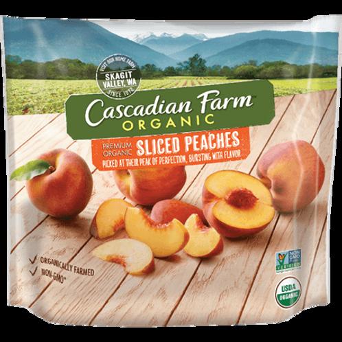 Cascadian Farm Organic Sliced Peaches 10 oz