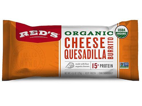 Red's Cheese Quesadilla Burrito