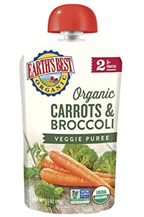 Earth Best Organic Carrots and Broccoli