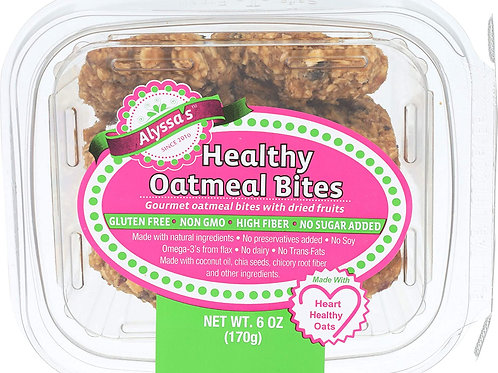 Alyssa's Healthy Oatmeal Bites 6oz