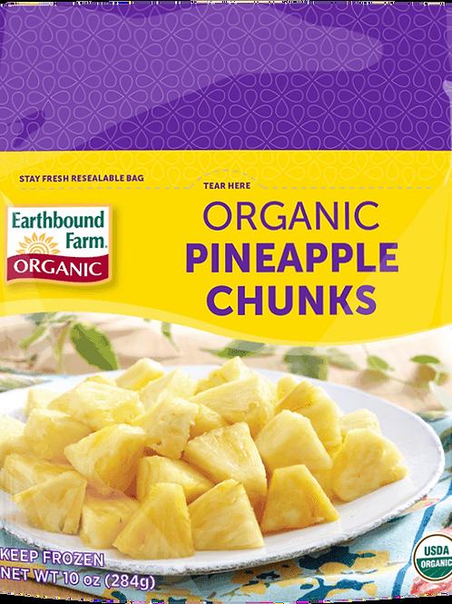 Earthbound Farm Organic Pineapple Chunks 10 oz