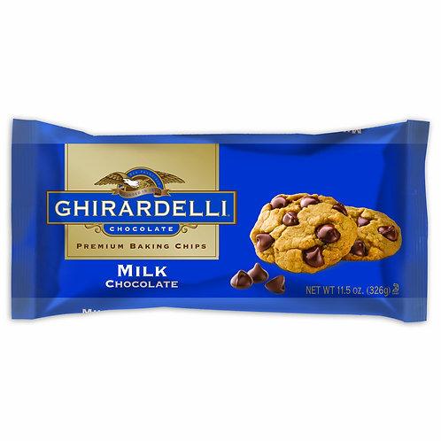 Chocolate Chip Milk Ghirardelli