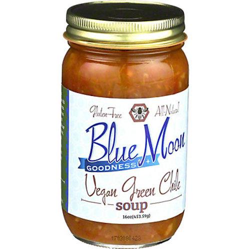 Blue Moon Vegan Green Chile Soup