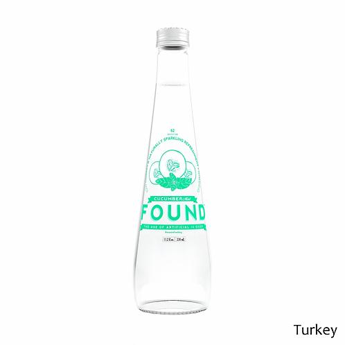 Found Cucumber Mint Sparkling Water 12oz