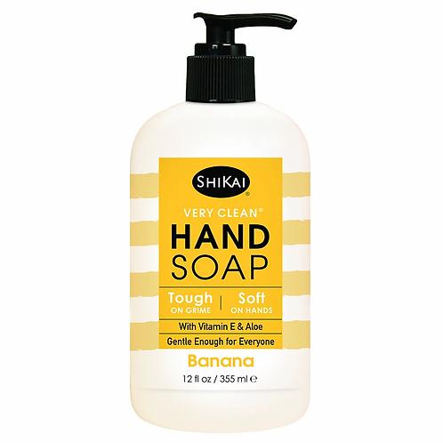 Shikai Hand Soap Banana 12 oz