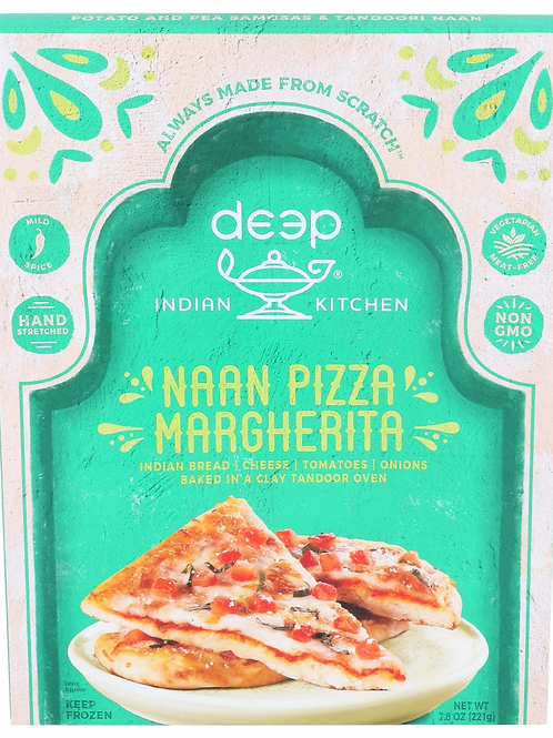 Deep Naan Pizza Margherita 7.4 oz