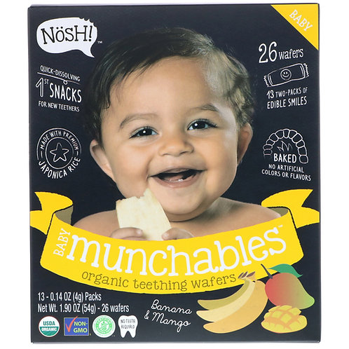 Nosh! Baby Munchables Banana and Mango