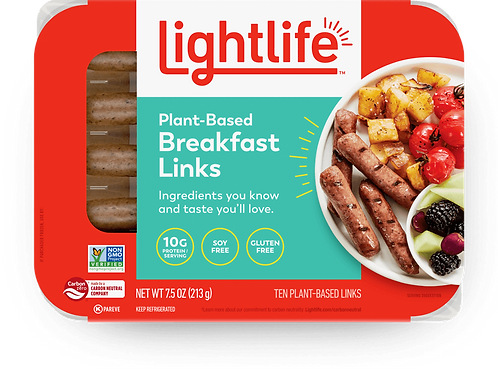 Lightlife Planted - Based Breakfast Links 7.5 oz