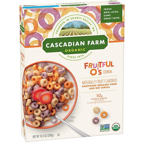 Cascadian Farm Fruitful O's 10.2 oz