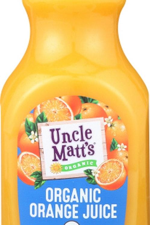 Uncle Matts Orange Juice Calcium C and Vitamin D