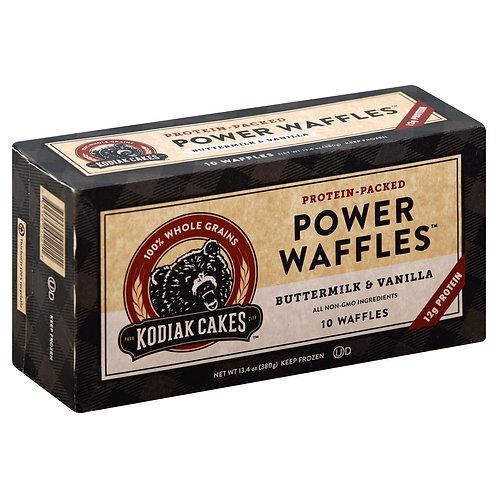 Power Waffle Buttermilk and Vanilla
