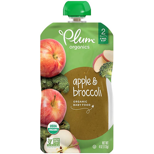Plum Organics/ Apple and Broccoli