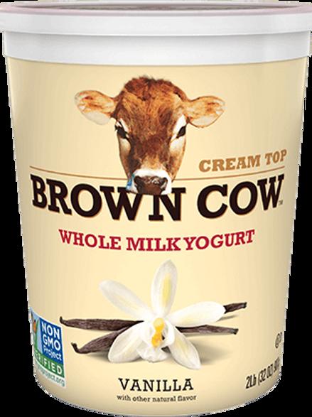 Brown Cow Whole Milk Yogurt Vanilla