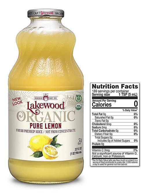 Lakewood Pure Lemon