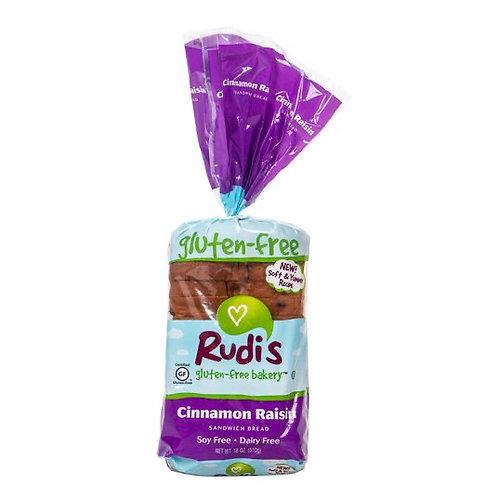Rudis Gluten Free Cinnamon Raisin