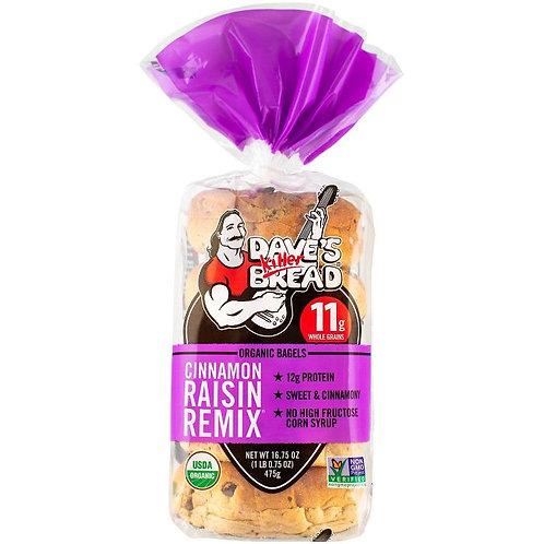 Dave Bread Cinnamon Raisn Bagels 16.75 oz