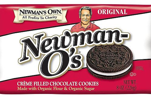 Newman O's Creamed Chocolate Cookies 8oz