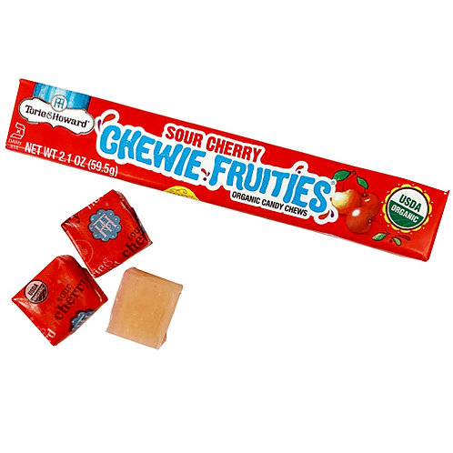 Torie and Howard Sour Cherry Chewie Fruities 2.1 oz